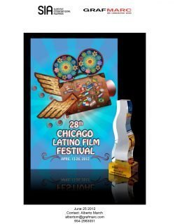 2012 Summit Creative Awards-Poster Single-Chicago Latino Film Festival