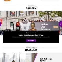 Outfront Media regional landing page