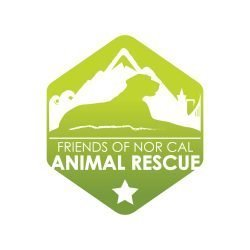 Friends of Nor Cal Animal Rescue logo for supporters of the organization to display
