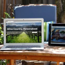 Wine Cube Tours website (Summit Award Winner)