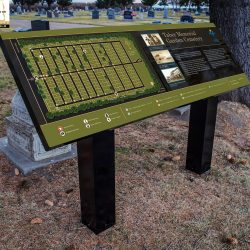 Town of Taber Memorial Gardens Mapping and Row Marker Project